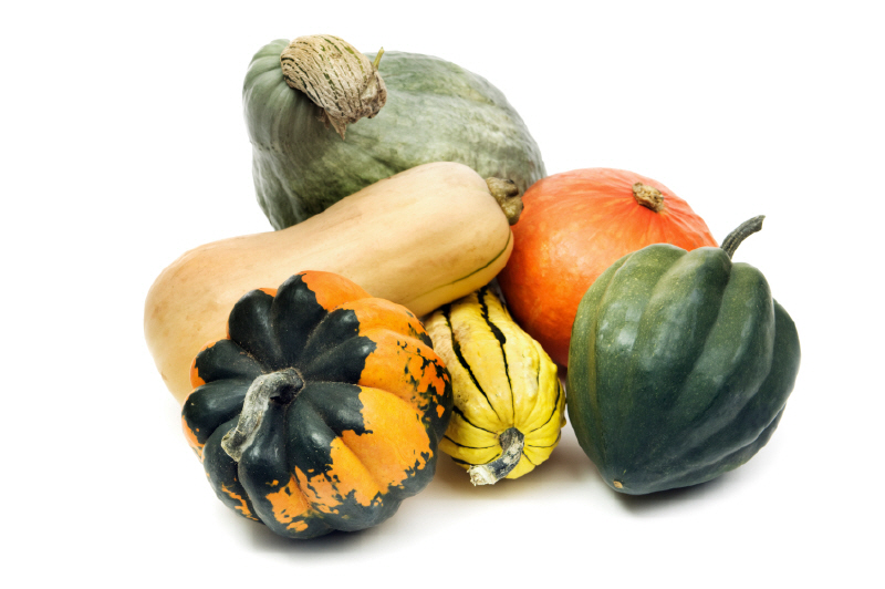 All dried gourds